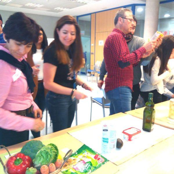taller de alimentacion saludable en seur